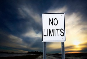 No Limits Sign